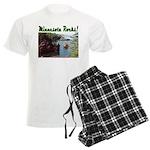 Minnesota Rocks! Men's Light Pajamas
