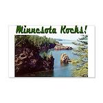 Minnesota Rocks! 22x14 Wall Peel
