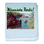 Minnesota Rocks! baby blanket