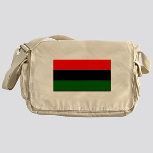 Red Black and Green Flag Messenger Bag