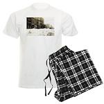 Snowed-in Front Street Men's Light Pajamas