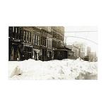 Snowed-in Front Street 38.5 x 24.5 Wall Peel