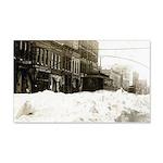 Snowed-in Front Street 22x14 Wall Peel