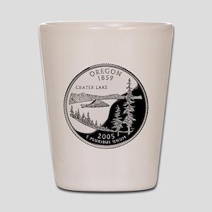 Oregon Quarter Shot Glass