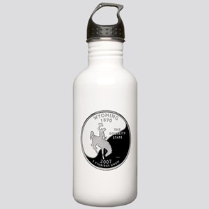 Wyoming Quarter Stainless Water Bottle 1.0L