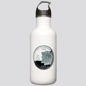 New Hampshire Quarter Stainless Water Bottle 1.0L