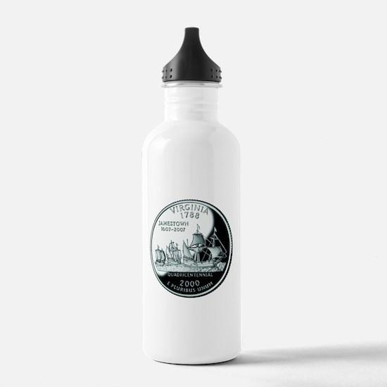 Virginia Quarter Water Bottle