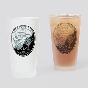 South Carolina Quarter Drinking Glass