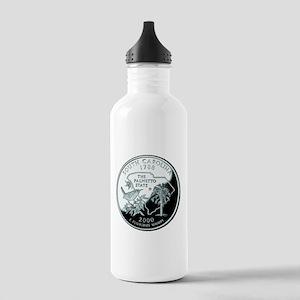 South Carolina Quarter Stainless Water Bottle 1.0L