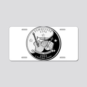 Tennessee Quarter Aluminum License Plate