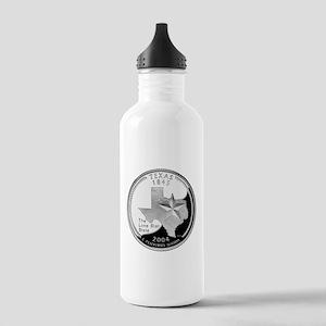 Texas Quarter Stainless Water Bottle 1.0L