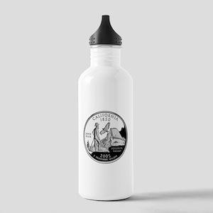 California Quarter Stainless Water Bottle 1.0L