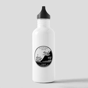 Florida Quarter Stainless Water Bottle 1.0L