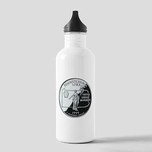 Pennsylvania Quarter Stainless Water Bottle 1.0L