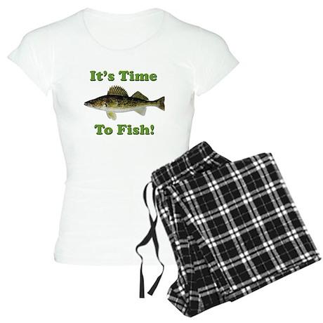 It's Time to Fish Women's Light Pajamas