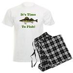 It's Time to Fish Men's Light Pajamas