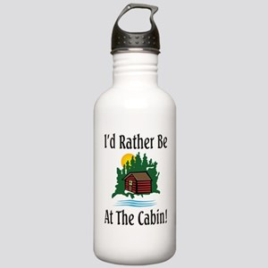 At The Cabin Stainless Water Bottle 1.0L