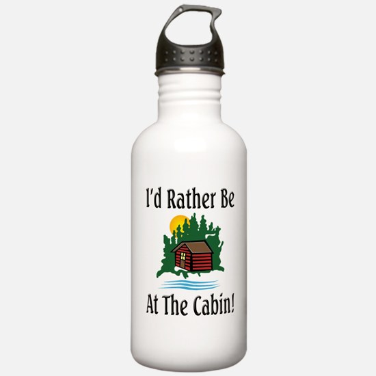 At The Cabin Sports Water Bottle