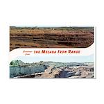 Mesaba Iron Range Car Magnet 20 x 12