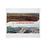 Mesaba Iron Range Throw Blanket