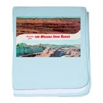 Mesaba Iron Range baby blanket