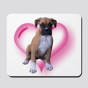Love Boxer Puppy Mousepad