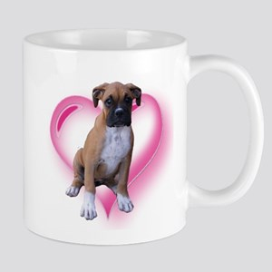 Love Boxer Puppy Mug