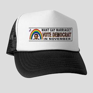 OBAMA GOALS Trucker Hat