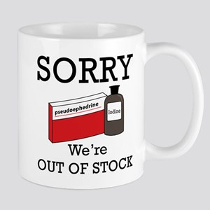 Pharmacy - Out Of Stock Mug
