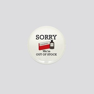 Pharmacy - Out Of Stock Mini Button