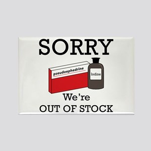 Pharmacy - Out Of Stock Rectangle Magnet