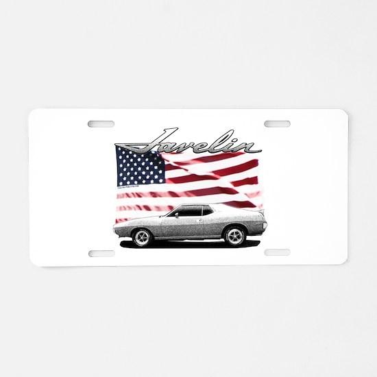 Cute Cars Aluminum License Plate