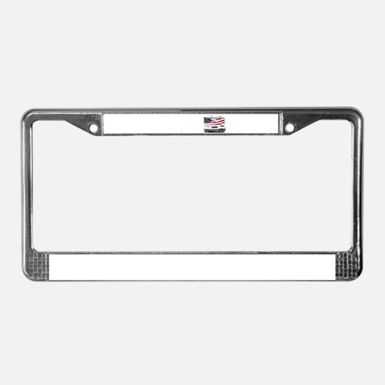 Cute American muscle License Plate Frame