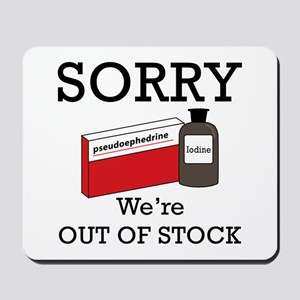 Pharmacy - Out Of Stock Mousepad