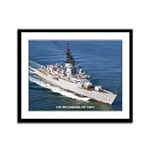 USS McCANDLESS Framed Panel Print