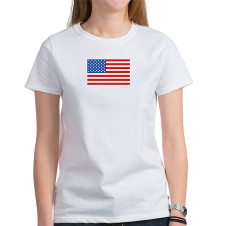American / US Flag Women's T-Shirt