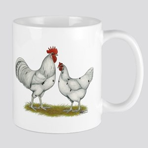 Austra White Chickens Mug