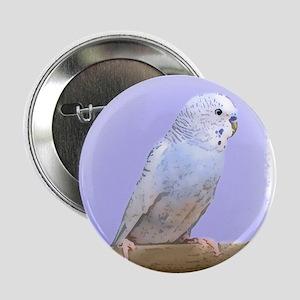 Blue Budgie Button