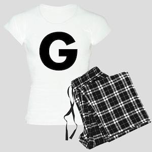 Letter G Women's Light Pajamas