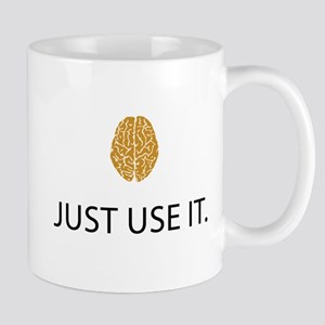 Just Use It (Brain) Mug