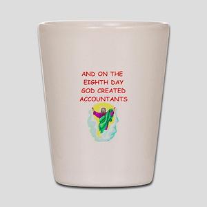 accountants Shot Glass