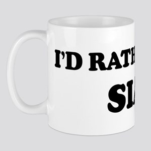 Rather be in Sian Mug