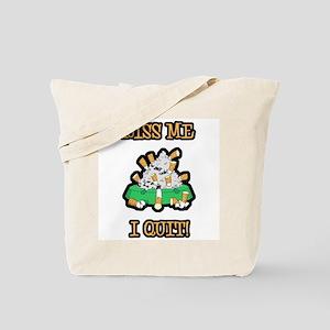 Kiss Me I Quit Smoking Tote Bag