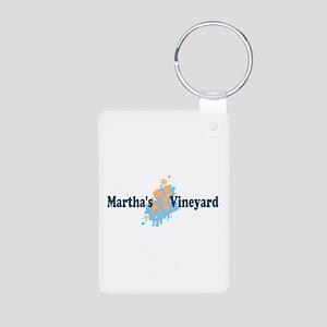 Martha's Vineyard MA - Seashells Design. Aluminum