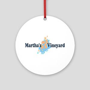 Martha's Vineyard MA - Seashells Design. Ornament