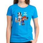 Ozy and Millie Women's Dark T-Shirt