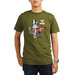 Ozy and Millie Organic Men's T-Shirt (dark)