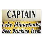I Love Lake Minnetonka Sticker (Rectangle 10 pk)