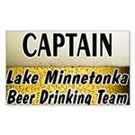 I Love Lake Minnetonka Sticker (Rectangle)