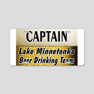 I Love Lake Minnetonka Aluminum License Plate